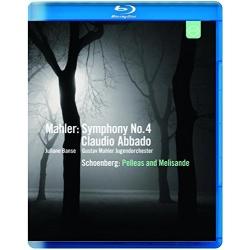 Mahler: Symphony No. 4 / Schoenberg: Pelleas & Melisande Blu-ray Cover