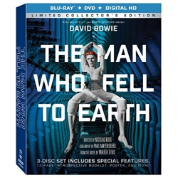 Man Who Fell to Earth Blu-ray Cover