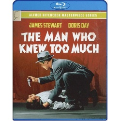 Man Who Knew Too Much Blu-ray Cover