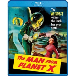Man from Planet X Blu-ray Cover