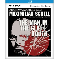 Man in the Glass Booth Blu-ray Cover