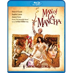 Man of La Mancha Blu-ray Cover