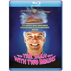 Man with Two Brains Blu-ray Cover
