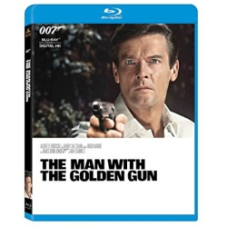 Man with the Golden Gun Blu-ray Cover
