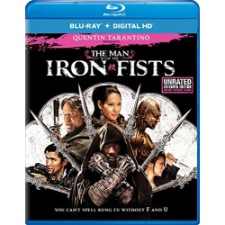 Man with the Iron Fists Blu-ray Cover