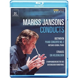 Mariss Jansons Conducts: Beethoven, Strauss Blu-ray Cover