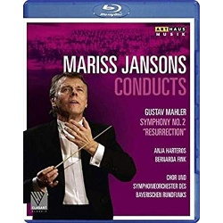 Mariss Jansons Conducts Mahler Blu-ray Cover