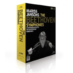 Mariss Jansons: The Beethoven Symphonies Blu-ray Cover