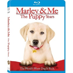 Marley & Me: The Puppy Years Blu-ray Cover