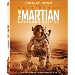 The Martian Extended Edition Blu-ray