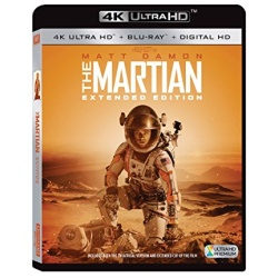 Martian: Extended Edition Blu-ray Cover