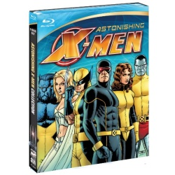 Marvel Knights: Astonishing X-Men Blu-ray Cover