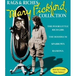 Mary Pickford: Rags & Riches Collection Blu-ray Cover