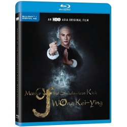 Master of the Shadowless Kick: Wong Kei-Ying Blu-ray Cover