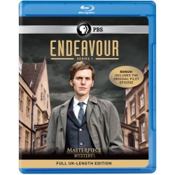 Masterpiece Mystery: Endeavour Series 1 Blu-ray Cover