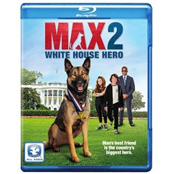 Max 2: White House Hero Blu-ray Cover