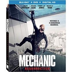 Mechanic Resurrection Blu-ray
