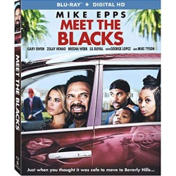 Meet the Blacks Blu-ray Cover