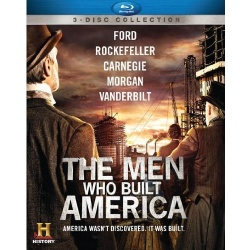 Men Who Built America Blu-ray Cover