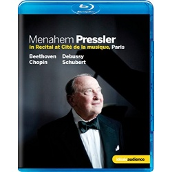Menahem Pressler: In Recital at Cite de la musique, Paris Blu-ray Cover