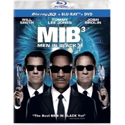 Men in Black 3 Blu-ray Cover