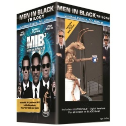 Men in Black / Men in Black 2 / Men in Black 3 Giftset Blu-ray Cover