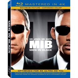 Men in Black Blu-ray Cover