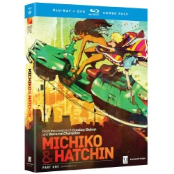 Michiko to Hatchin: Complete Series - Part One Blu-ray Cover