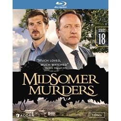Midsomer Murders: Series 18 Blu-ray Cover