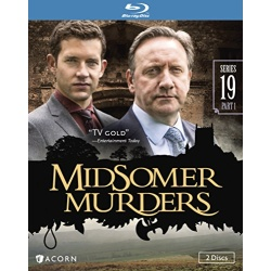 Midsomer Murders: Series 19 - Part 1 Blu-ray Cover