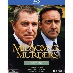 Midsomer Murders: Set 20 Blu-ray Cover