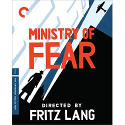 Ministry of Fear Blu-ray Cover