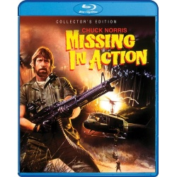 Missing in Action Blu-ray Cover