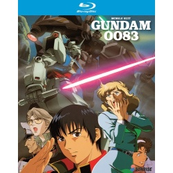 Mobile Suit Gundam 0083 Blu-ray Cover