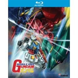 Mobile Suit Gundam: Collection 01 Blu-ray Cover