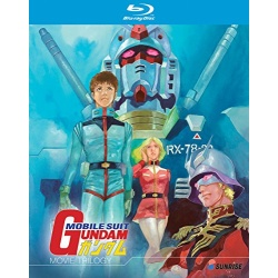 Mobile Suit Gundam Movie Trilogy Blu-ray Cover