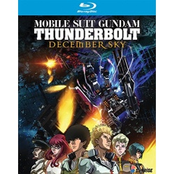 Mobile Suit Gundam Thunderbolt: December Sky Blu-ray Cover