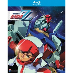 Mobile Suit Gundam ZZ: Collection 1 Blu-ray Cover