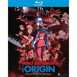 Mobile Suit Gundam the Origin: Chronicle of Char and Sayla Blu-ray Cover