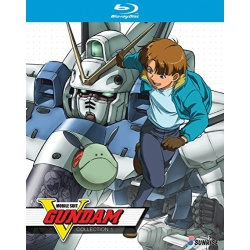 Mobile Suit V Gundam: Collection 1 Blu-ray Cover