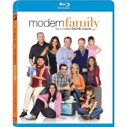 Modern Family: The Complete 4th Season Blu-ray Cover