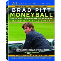 Moneyball Blu-ray Cover