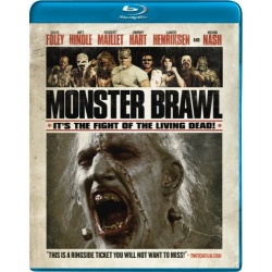 Monster Brawl Blu-ray Cover