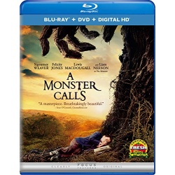Monster Calls Blu-ray Cover