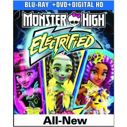 Monster High: Electrified Blu-ray Cover