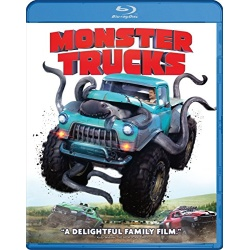 Monster Trucks Blu-ray Cover