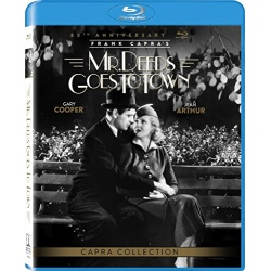 Mr. Deeds Goes to Town Blu-ray Cover
