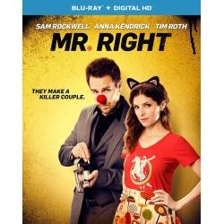 Mr. Right Blu-ray Cover