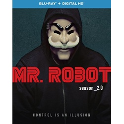 Mr. Robot: Season 2.0 Blu-ray Cover