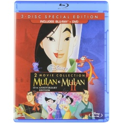 Mulan / Mulan II Blu-ray Cover